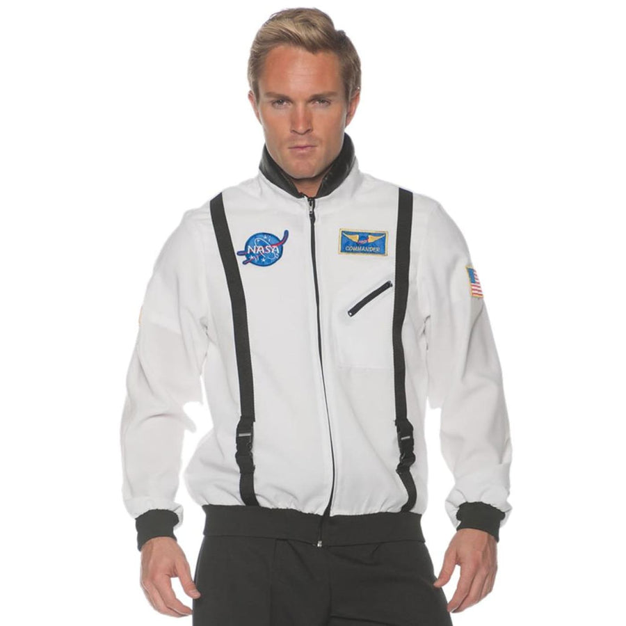 Space Jacket Mens Costume White Std - Halloween costumes Mens Costumes New