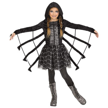 Sparkling Spider Girls Costume Lg - Girls Costumes Halloween costumes New