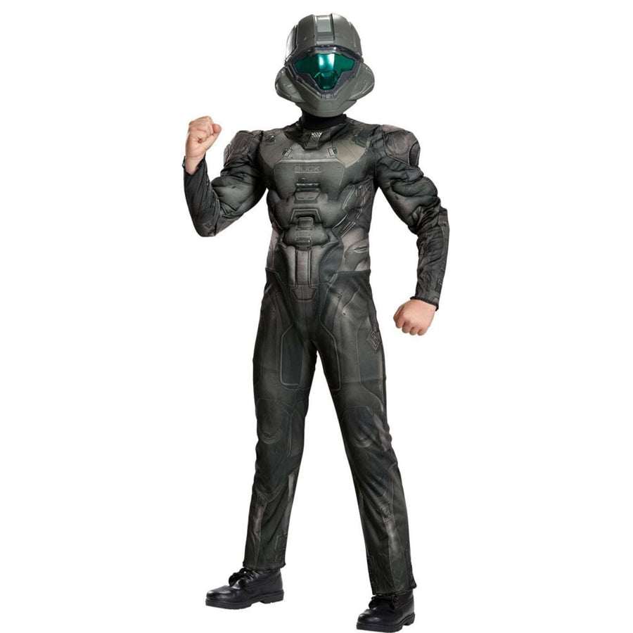 Spartan Buck Muscle Boys Costume XLarge 14-16 - Boys Costumes Halloween costumes