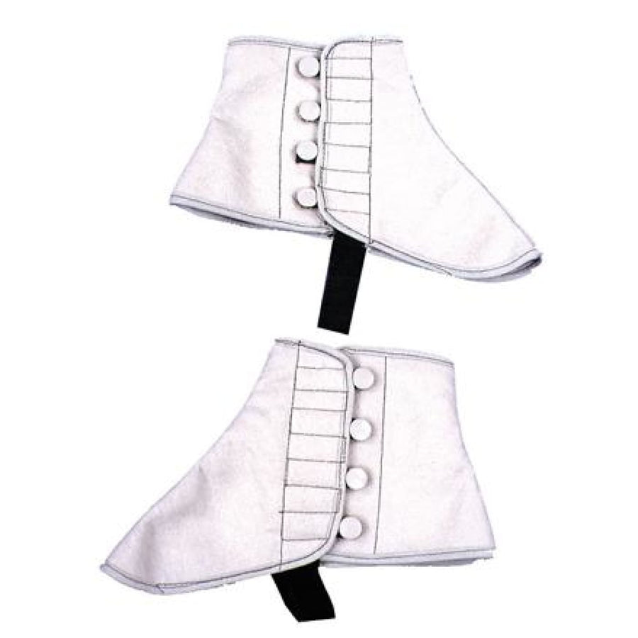 Spats Grey Felt Lg Xl - 20s - 40s Costume Halloween costumes Shoes & Boots
