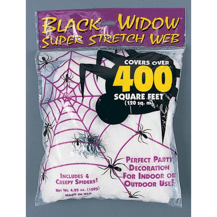 Spider Web 120 Gr White - Decorations & Props Halloween costumes haunted house