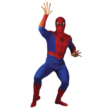 Spiderman Adult Costume - adult halloween costumes halloween costumes male