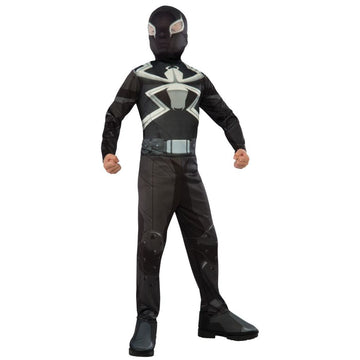 Spiderman Agent Venom Boys Costume Large - Boys Costume DC Comics Costume