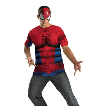 Spiderman Alt No Scars 42-46 - adult halloween costumes halloween costumes male