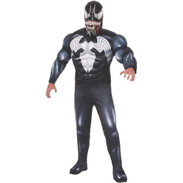 Spiderman Classic Venom Mens Costume - adult halloween costumes DC Comics