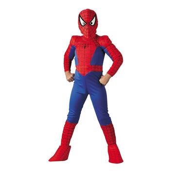 Spiderman Deluxe Boys Costume Comic 12 To 1 - Boys Costume boys Halloween