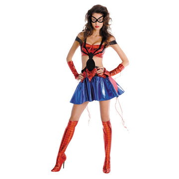 Spiderman Girl Sassy Lg 12-14 - adult halloween costumes female Halloween