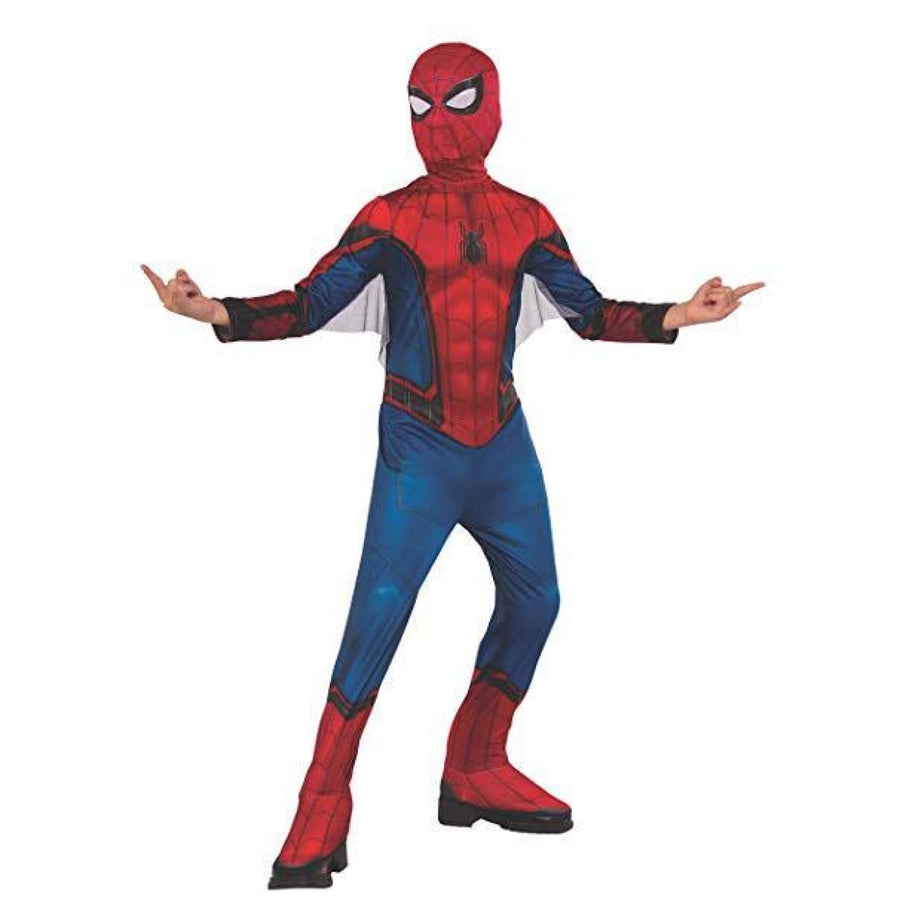 Spiderman Red Blue Boys Costume Medium - Boys Costumes New Costume