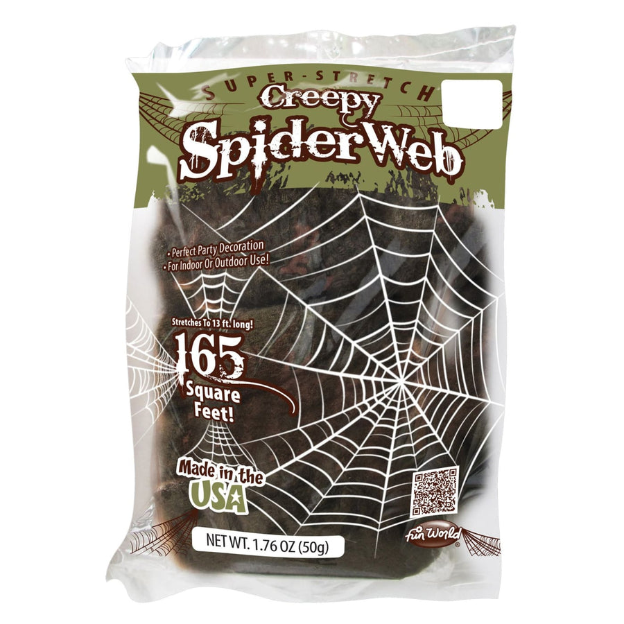 Spiderweb Creepy 50 Gm - Decorations & Props Halloween costumes haunted house