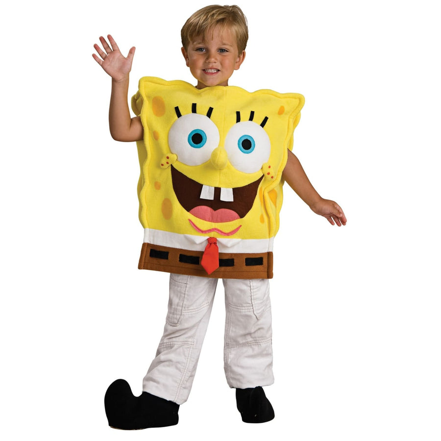 Spongebob Deluxe Toddler Costume 2T-4T - Halloween costumes Spongebob