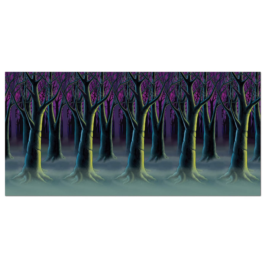 Spooky Forest Trees Backdrop - Decorations & Props Halloween costumes haunted