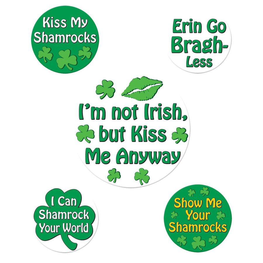St Patricks Funny Party Button - Decorations & Props Halloween costumes haunted