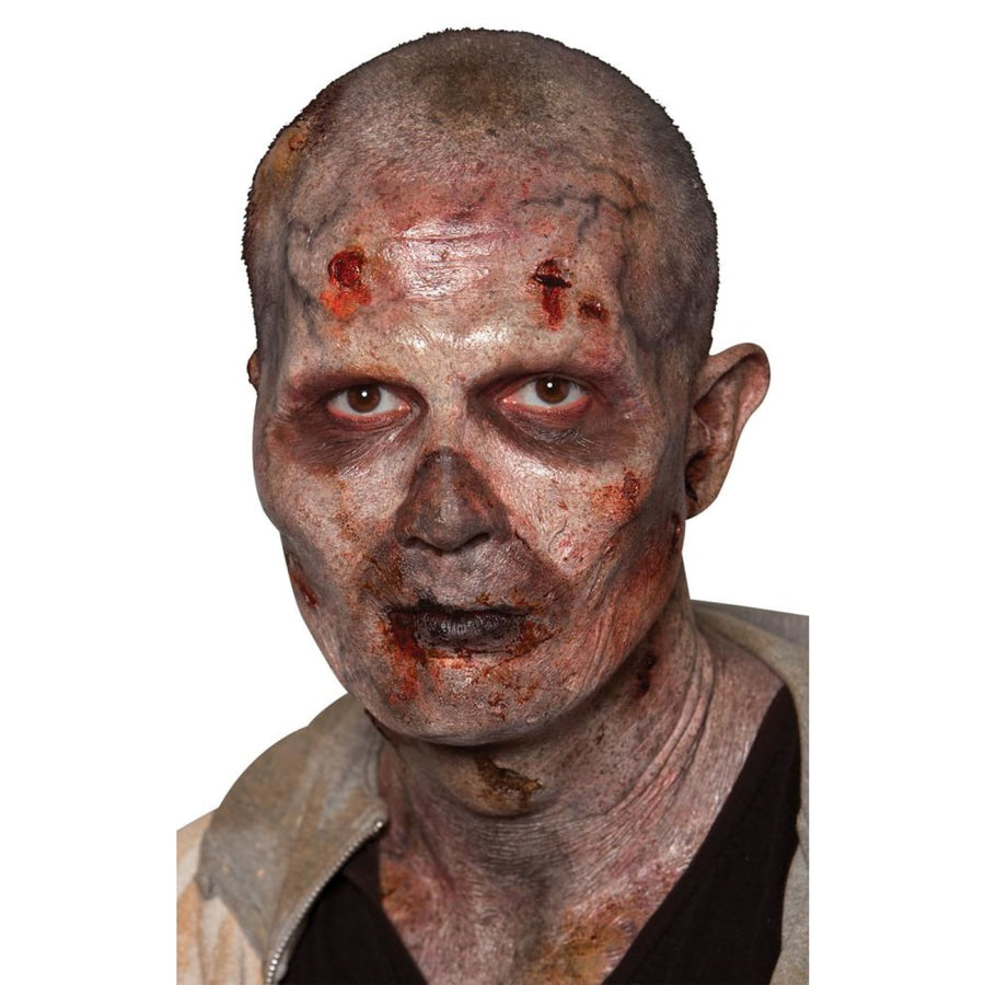 Stage 2 Zombie - Foam Prosthetic Mask - Costume Masks Halloween costumes