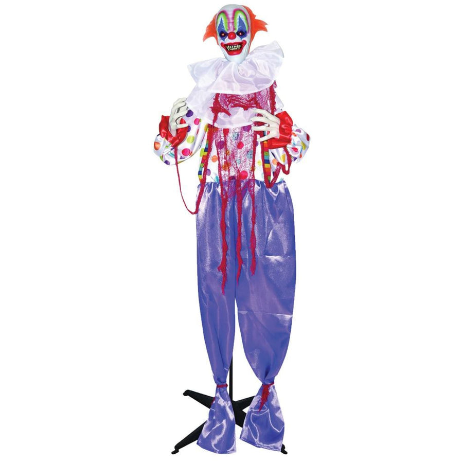 Standing Animated Clown 60 Inch Prop - Clown & Mime Costume clown costumes