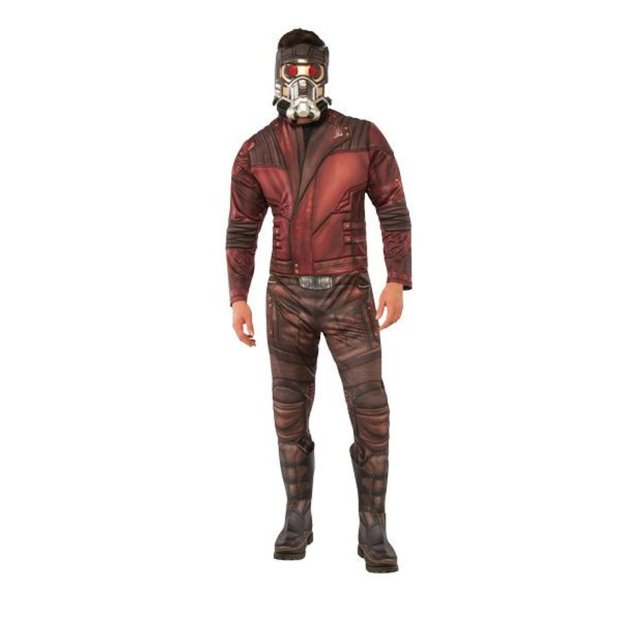 Star-Lord Deluxe Mens Costume Xlarge 44-46 - Mens Costumes Mens Plus Size