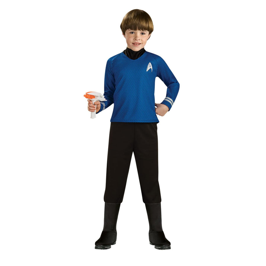 Star Trek Boys Costume Deluxe Blu Cost Md - Boys Costumes boys Halloween costume