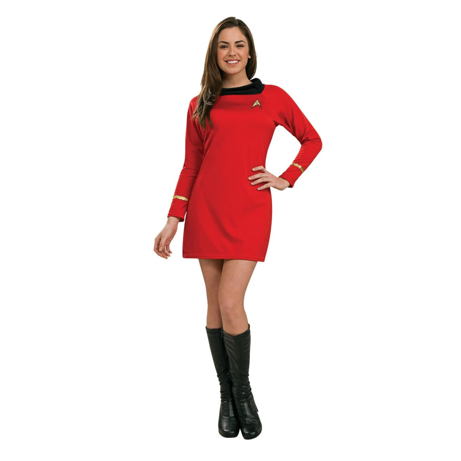 Star Trek Classic Red Dress Xs - adult halloween costumes female Halloween