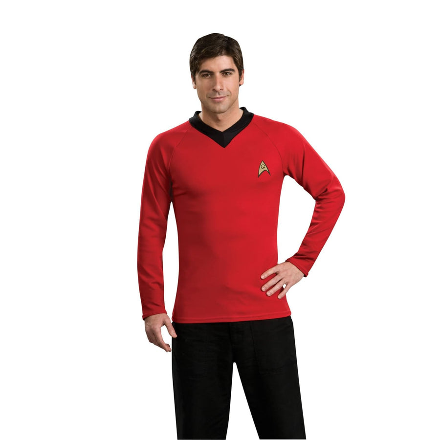 Star Trek Classic Red Shirt Md - adult halloween costumes halloween costumes