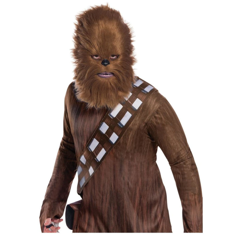 Star Wars Chewbacca Mask With Fur - Costume Masks Halloween Mask Latex Mask New