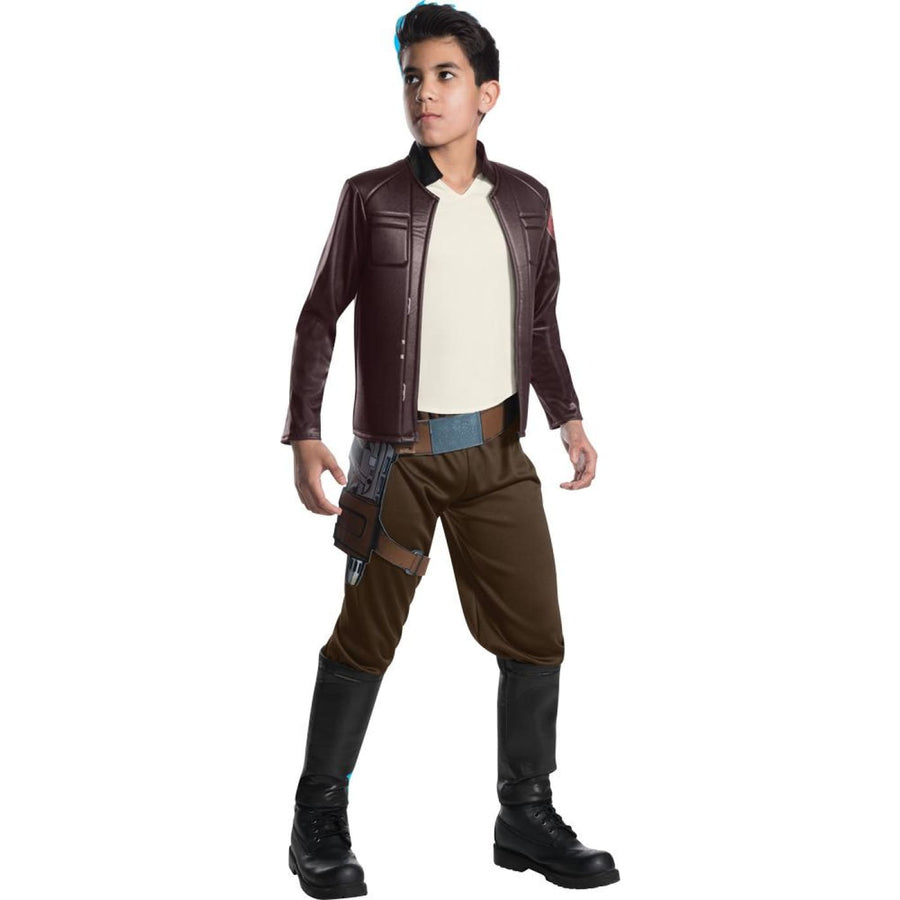 Star Wars Poe Dameron Deluxe Boys Costume Md - Boys Costumes Halloween costumes