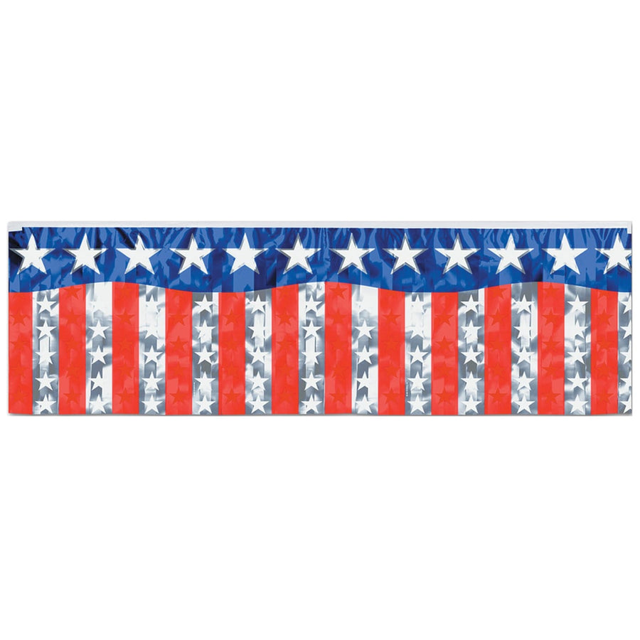 Stars & Stripes Fringe Banner - Decorations & Props Halloween costumes haunted