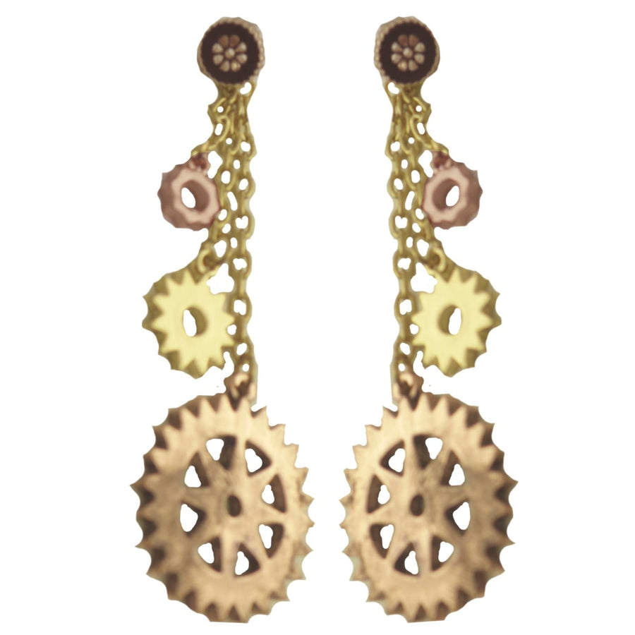 Steampunk Earrings - Halloween costumes