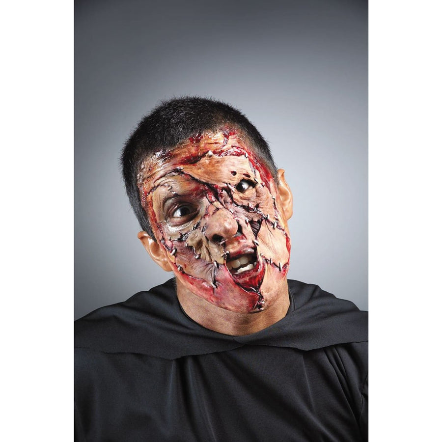 Stitched Face Foam Appliance - Costume Makeup Halloween costumes Halloween