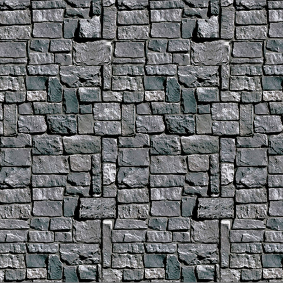 Stone Wall Backdrop - Decorations & Props Halloween costumes haunted house