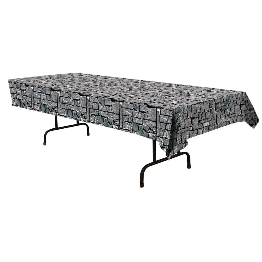 Stone Wall Table Cover - Decorations & Props Halloween costumes haunted house