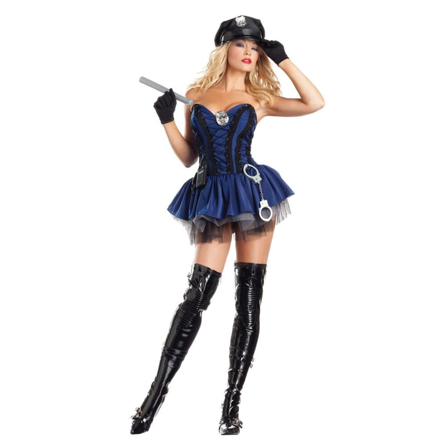 Stunning Sergeant Sexy Adult Costume Small-Medium - adult halloween costumes
