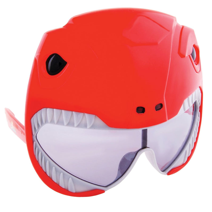 Sunstache Power Ranger Red Glasses - Glasses Gloves & Neckwear Halloween
