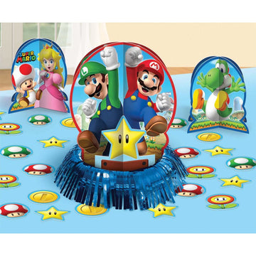 Super Mario Decor Kit - Birthday Party Decorations Birthday Party Plates