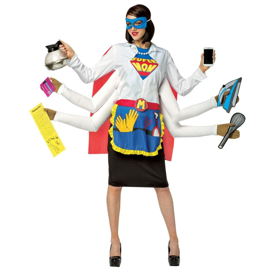 Super Mom Adult Costume - adult halloween costumes female Halloween costumes