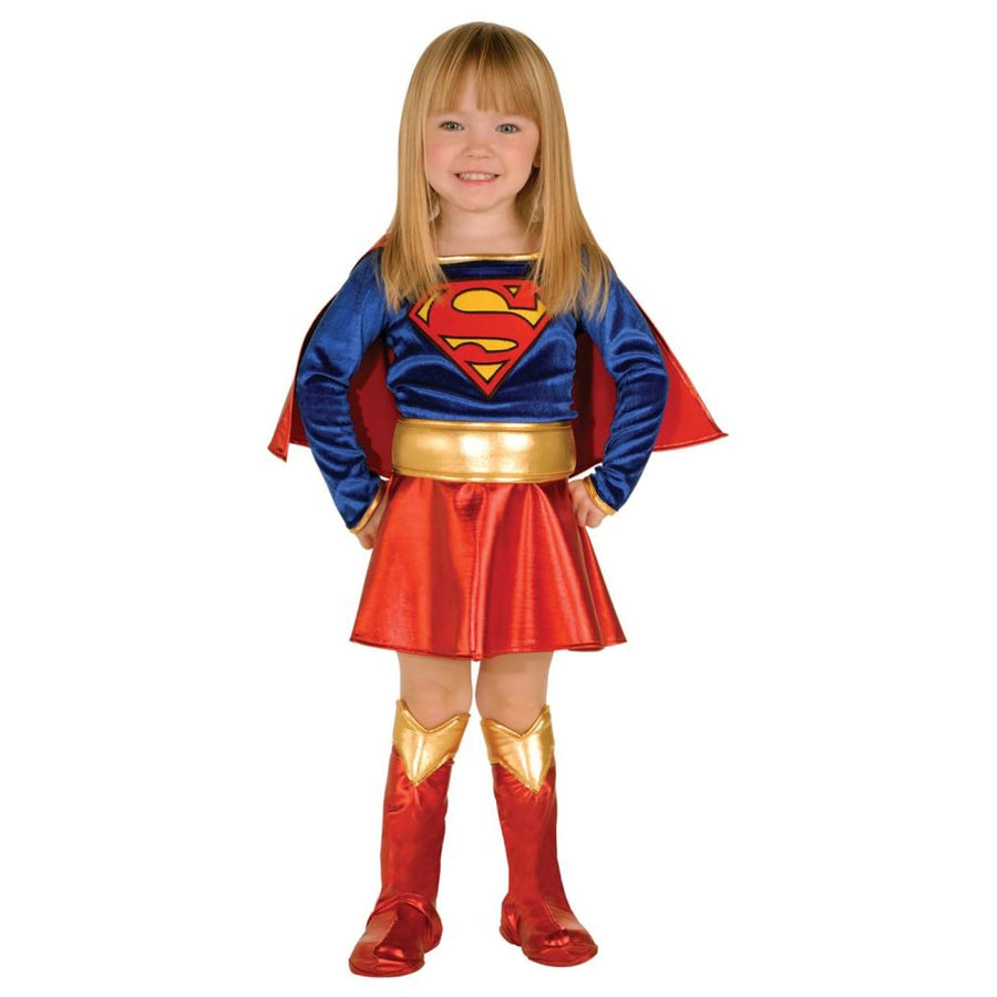 Supergirl Deluxe Toddler Costume 2T-4T - Halloween costumes superhero costumes