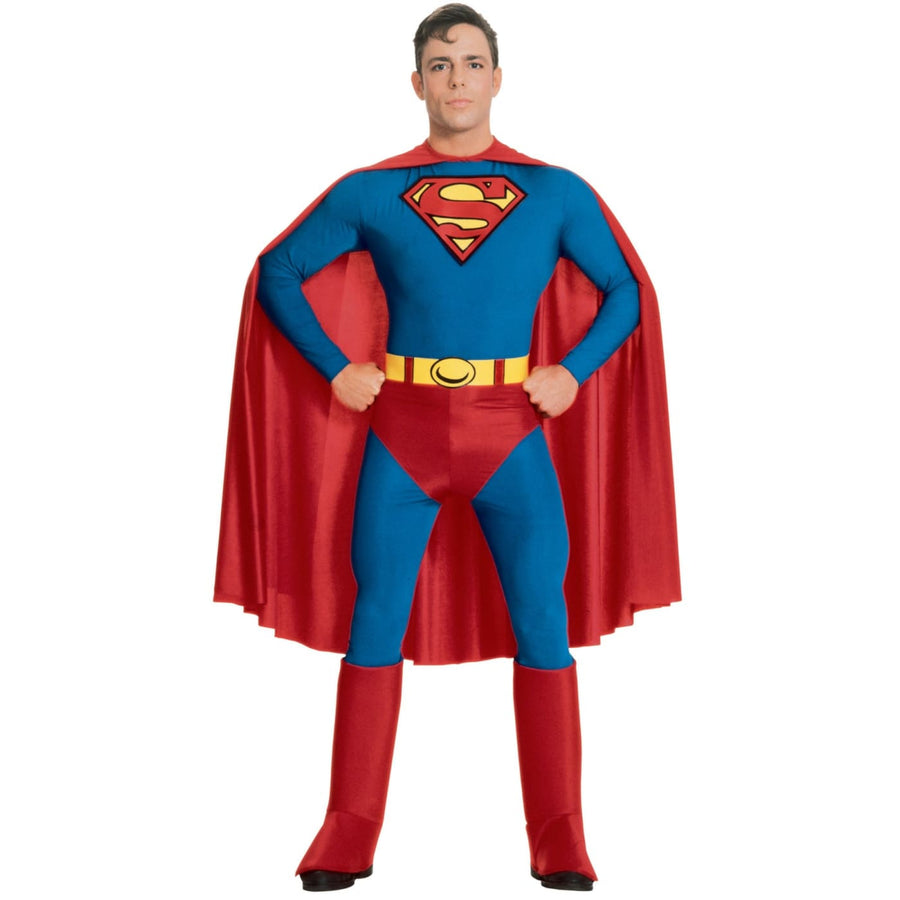 Superman Adult Extra Large - adult halloween costumes halloween costumes male