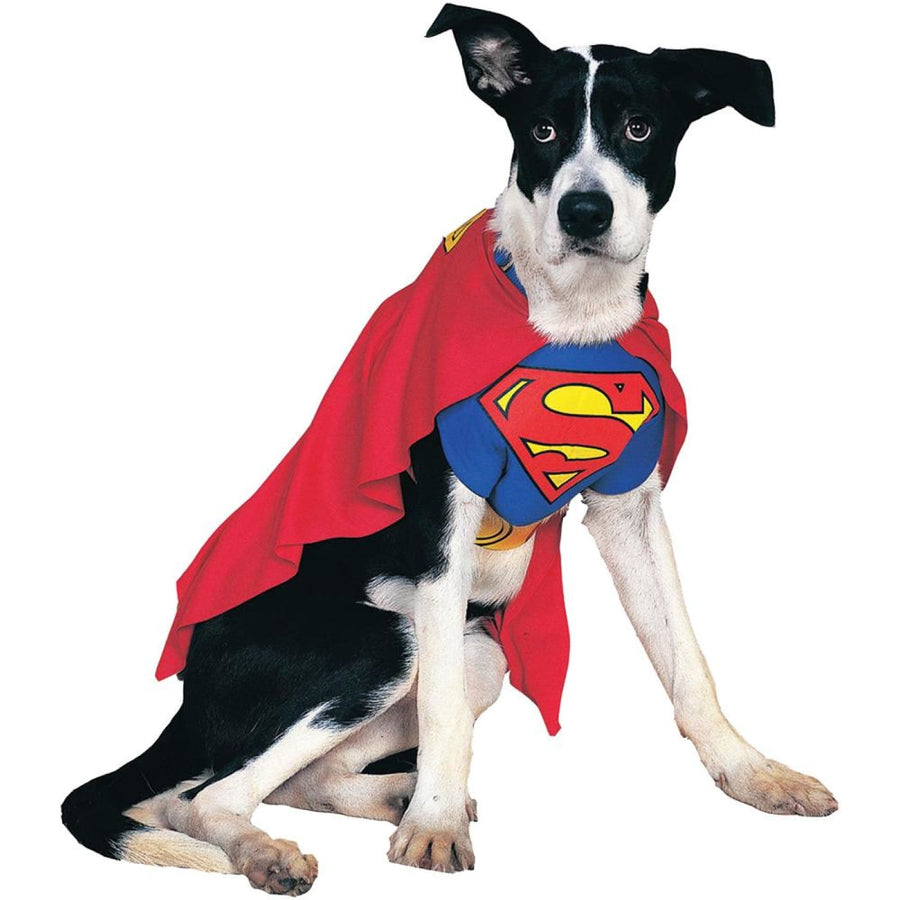Superman Dog Costume Xl - Dog Costume dog costumes Dog Halloween Costume
