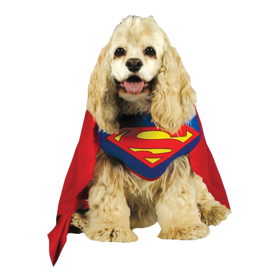 Superman Pet Costume Md - DC Comics Costume Dog Costume dog costumes Dog