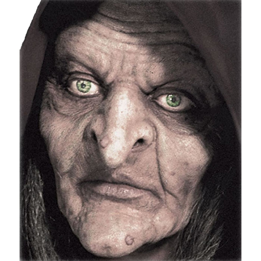 Swamp Witch Prepainted Foam Prosthetic Mask - Costume Masks Halloween Mask