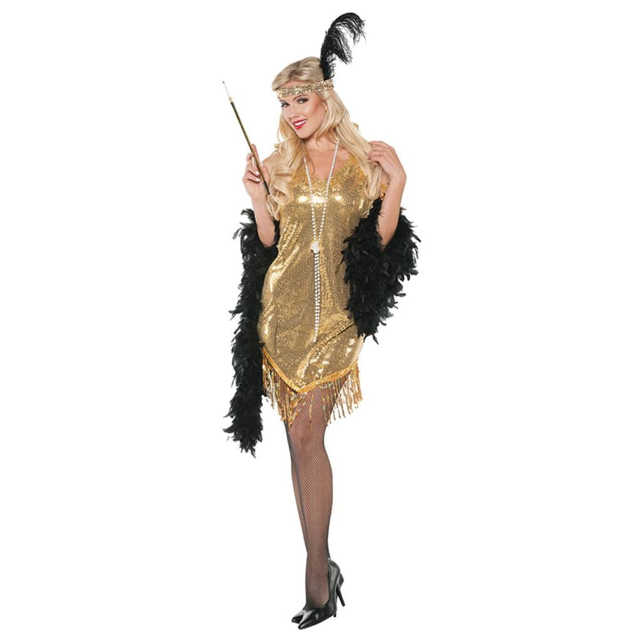 Swingin Gold Adult Costume Xlarge - 20s - 40s Costume adult halloween costumes