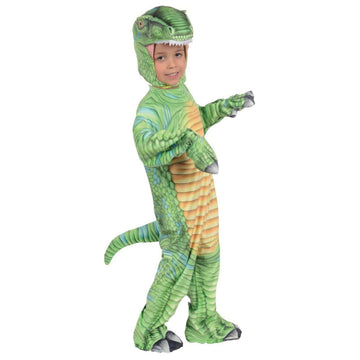 T-Rex Green Boys Costume 4-6 - Boys Costumes New Costume