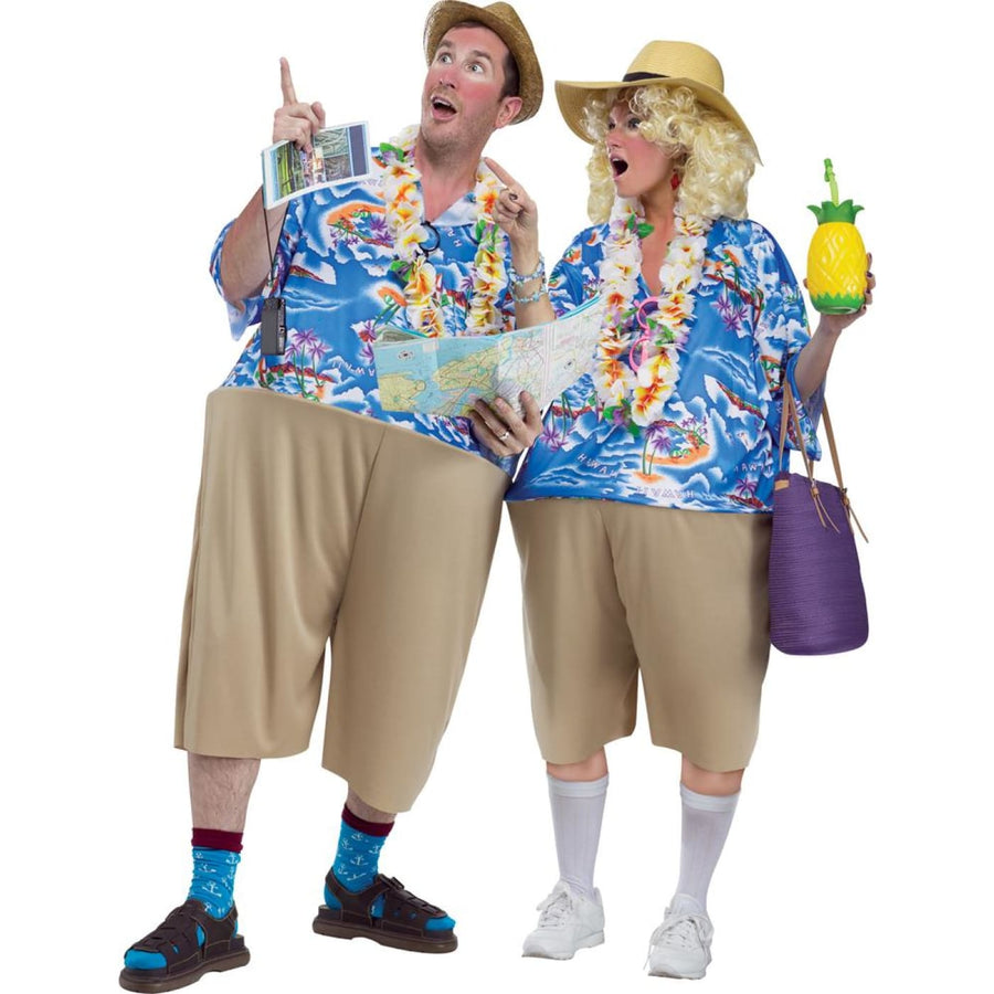 Tacky Tourist Adult Costume - adult halloween costumes Funny Costume funny