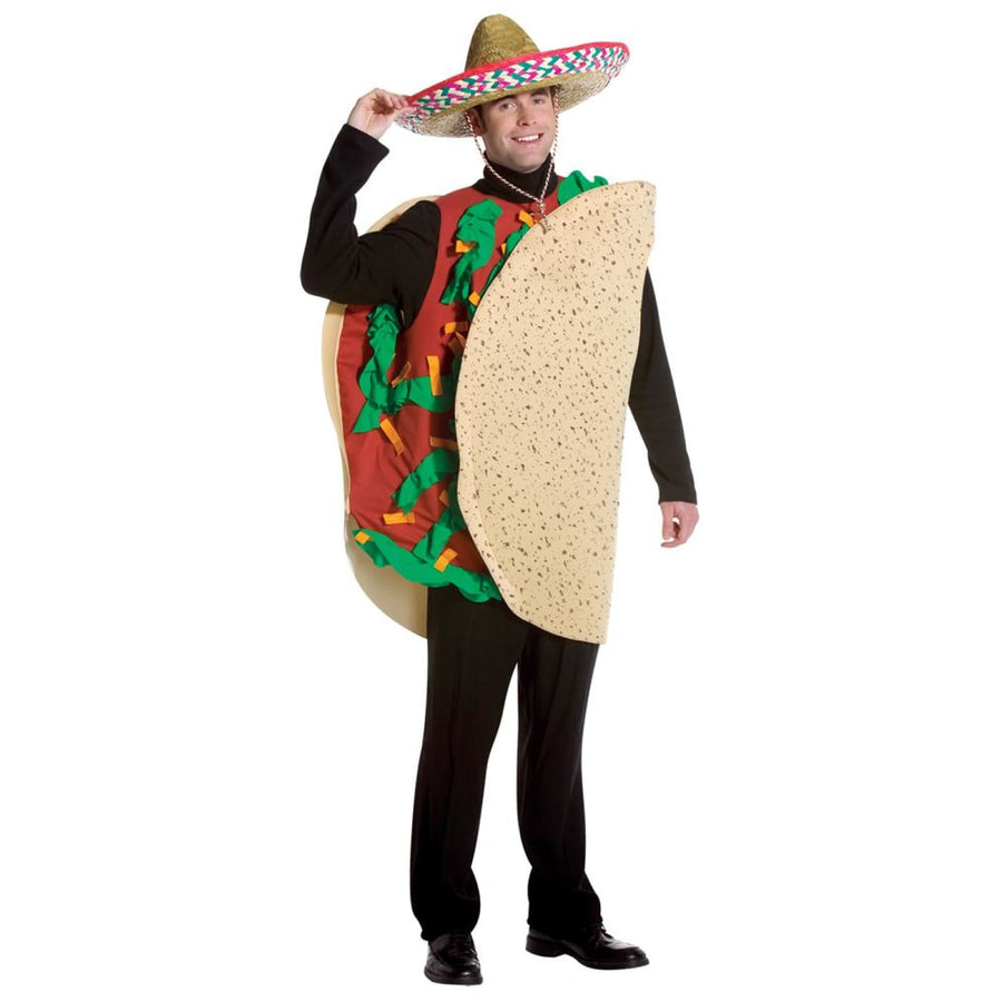 Taco Adult Costume - Halloween costumes Mens Costumes