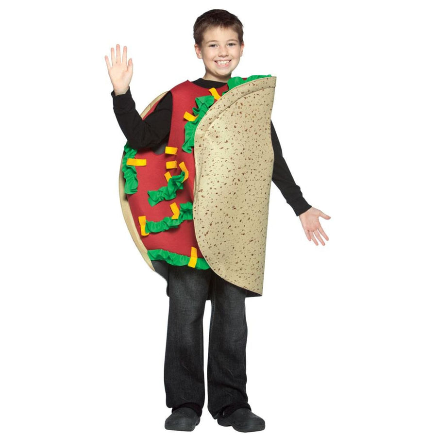 Taco Boys Costume Medium 7-10 - Boys Costumes Halloween costumes