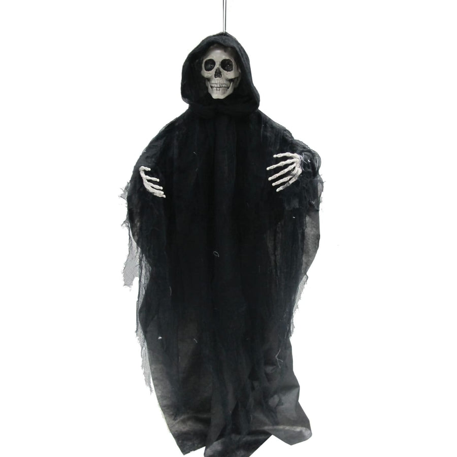 Talking Hanging Reaper 3 Ft - Decorations & Props Halloween costumes haunted