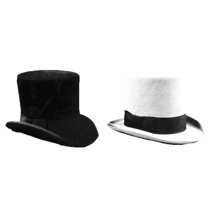 Tall Hat Grey Lg - Halloween costumes Hats Tiaras & Headgear Historical Costume