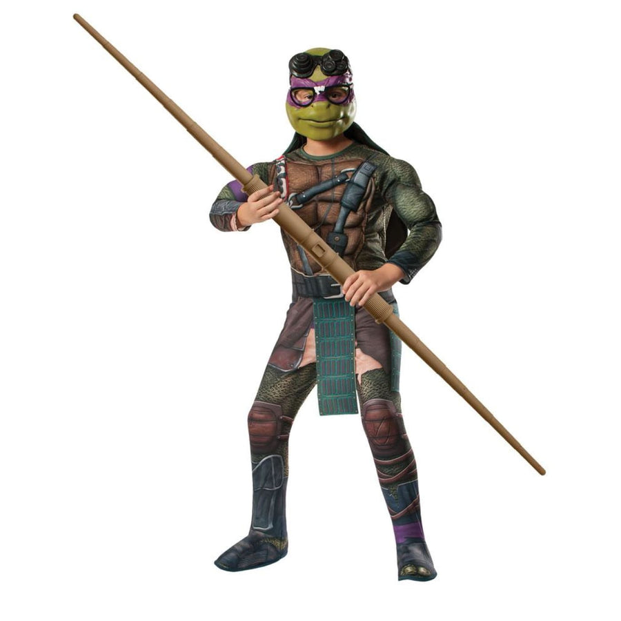 Teenage Mutant Ninja Turtle Donatello Boys Costume Large - Boys Costumes boys