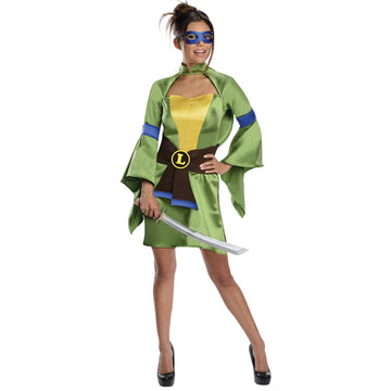 Teenage Mutant Ninja Turtles Leonardo Female Adult Costume Medium - adult