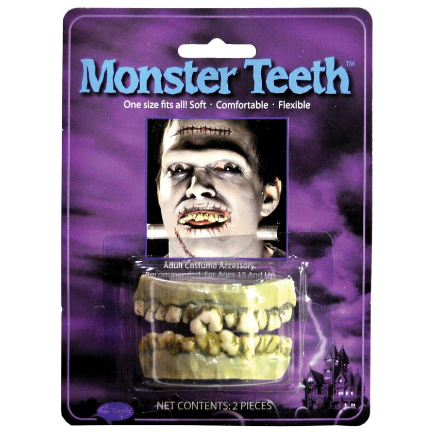 Teeth Monster - Costume Makeup Halloween costumes Halloween makeup