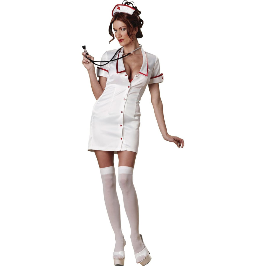 Temperature Rising Adult Md - adult halloween costumes Doctor & Nurse Costume