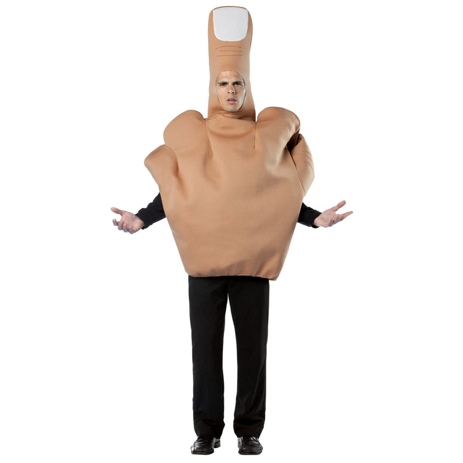 The Finger Adult Costume - adult halloween costumes featured Funny Costume funny